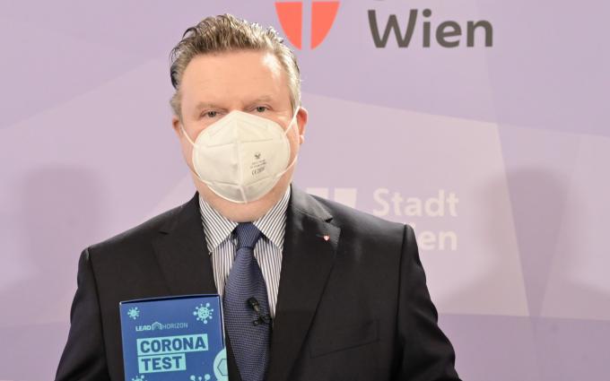 """""""Alles gurgelt"""" – Gratis PCR Test für alle WienerInnen"""